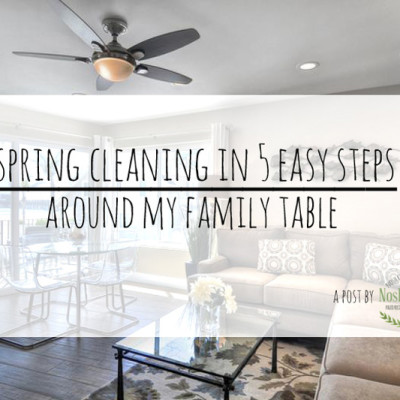 Spring Cleaning In Five Easy Steps