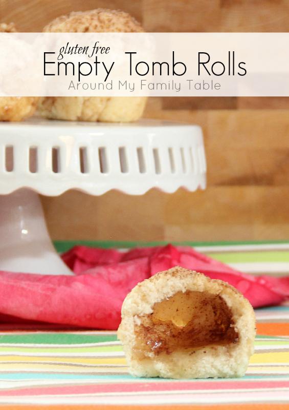 Gluten Free Empty Tomb Rolls