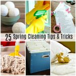 25 Spring Cleaning Tips & Tricks
