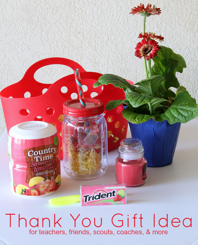 Thank You Gift Idea Around My Family Table