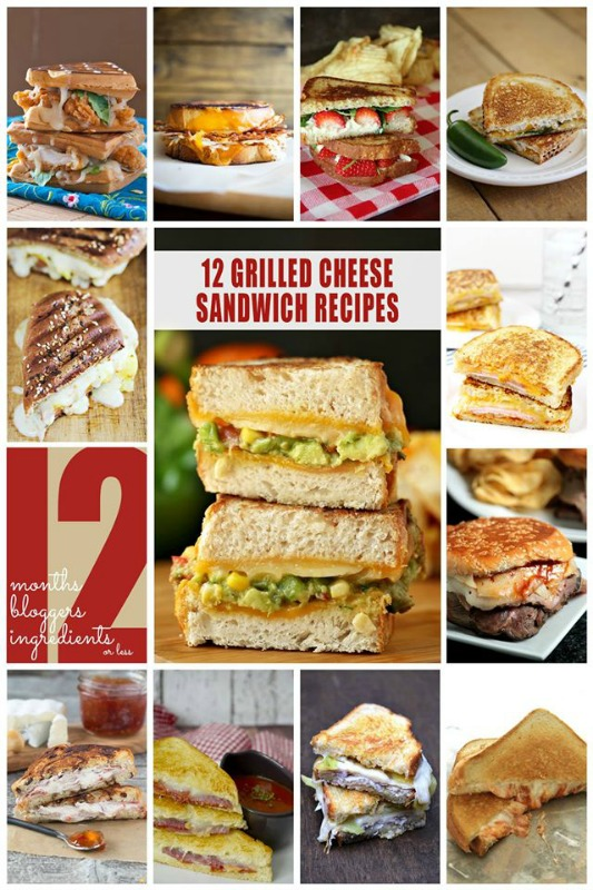 12 ooey, gooey grilled cheese recipes with 12 ingredients or less!