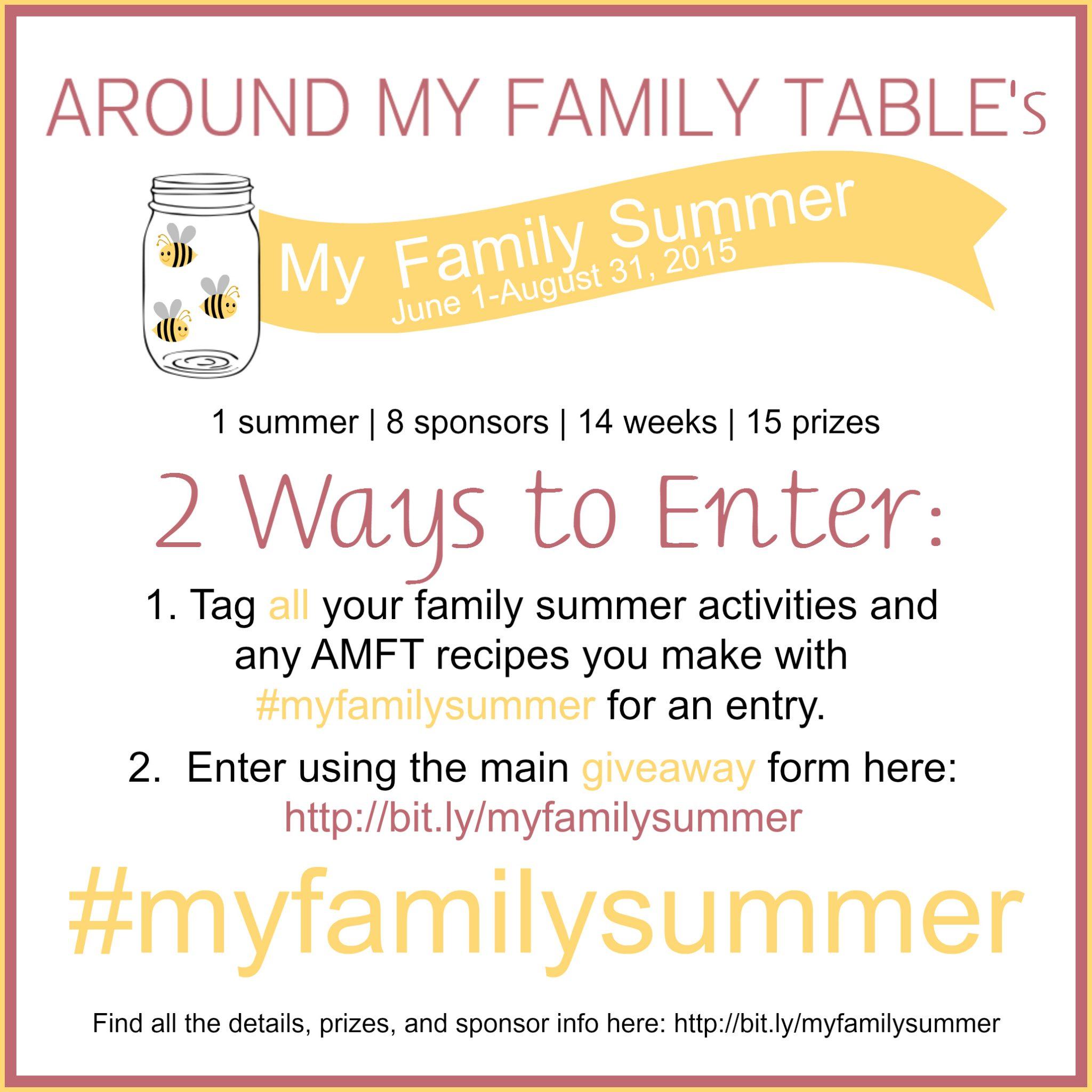 #MyFamilySummer Promotion