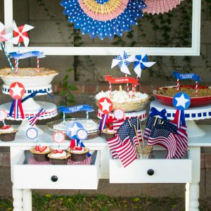 4th of July Party Decoration & Food Ideas