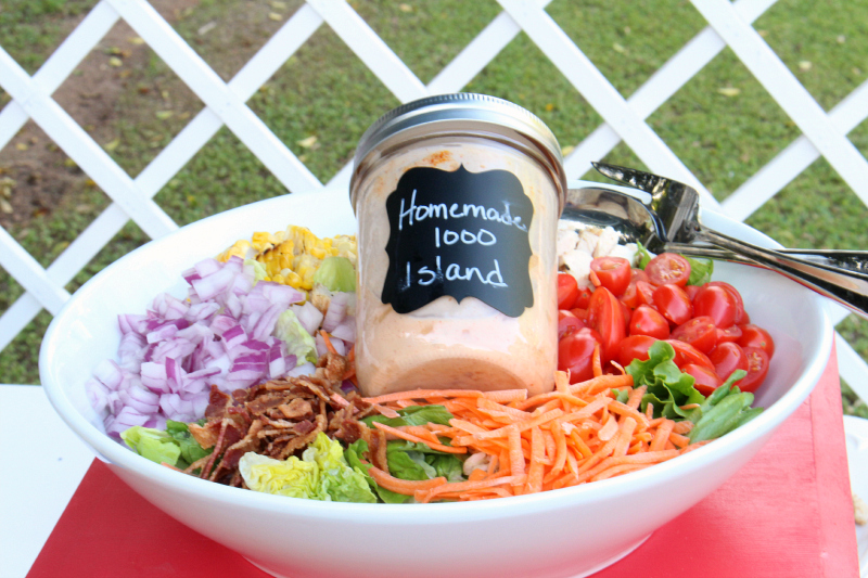 Homemade Thousand Island Dressing Around My Family Table