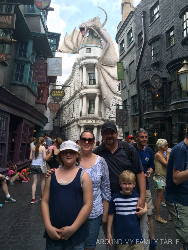 Universal Orlando....the Wizarding World of Harry Potter