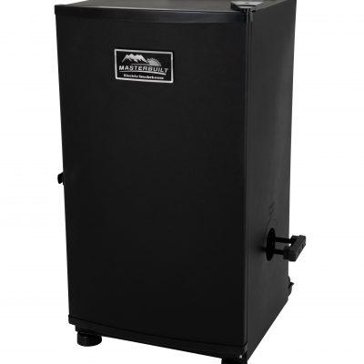 20070910 30-inch Electric Digital Smokehouse Black w/ Top Rear Control Panel