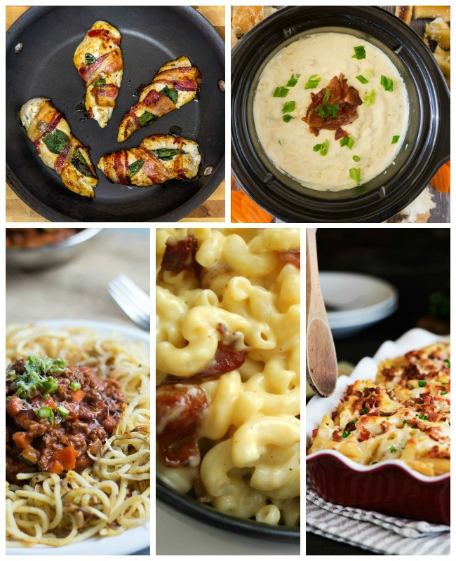 5 More Delicious Bacon Suppers....25 No Fail Bacon Meal Solutions & Recipes