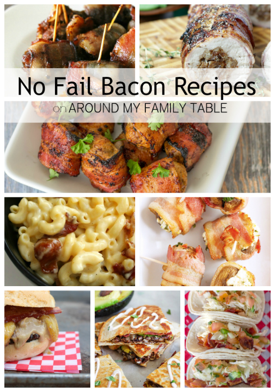 25 No Fail Bacon Meal Solutions & Recipes