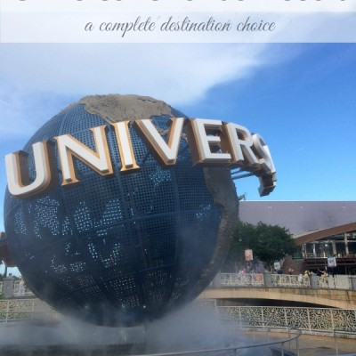 Universal Orlando Resort…A Complete Destination Choice