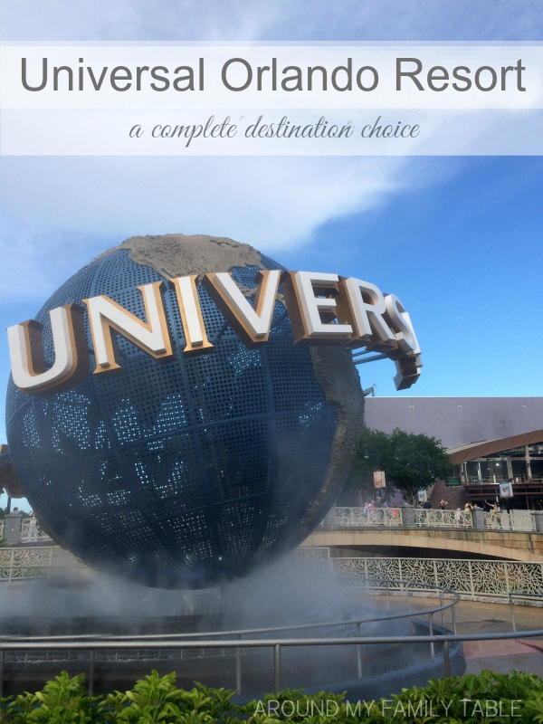 Universal Orlando Resort...A Complete Destination Choice