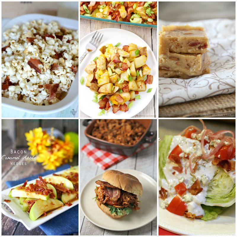 6 BACON Inspired Recipes