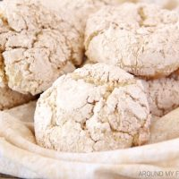 Apple Pie Crinkle Cookies