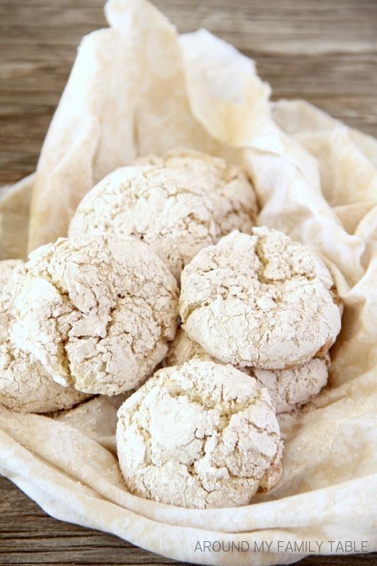 Apple Pie Crinkle Cookies