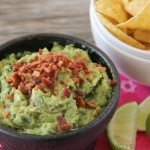 Bacon Guacamole....it's the best dang guacamole on the planet....because it's got bacon in it!