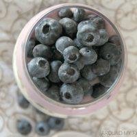 Blueberries and Cream Yogurt Parfait