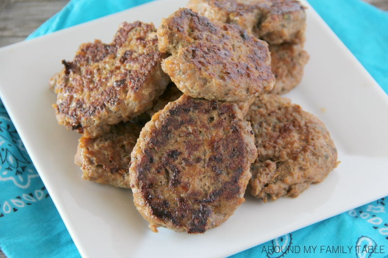 Homemade Breakfast Turkey Sausage