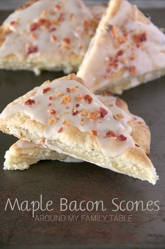 If you are a fan of sweet & salty then you will love these Maple Bacon Scones.