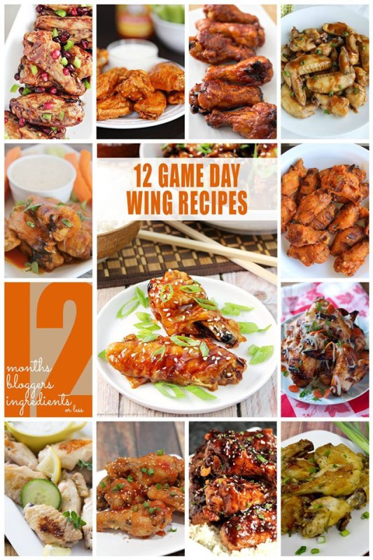12 Game Day Wings that you'll want at your party!
