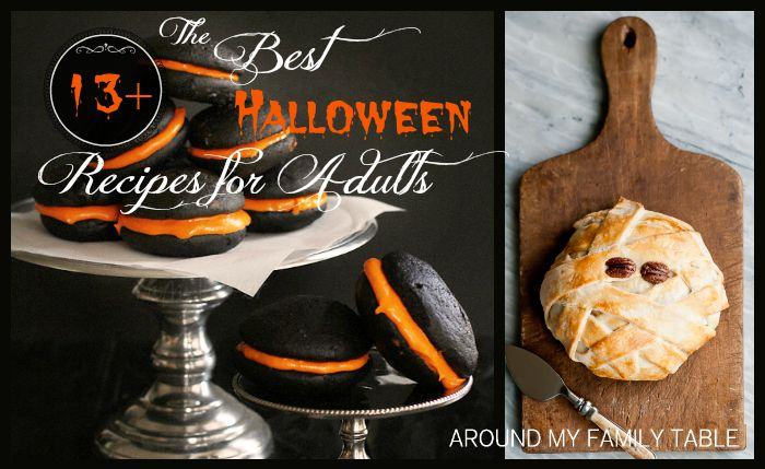 Grown Ups Wanted >> The Best Halloween Recipes for Adults - Around My Family Table