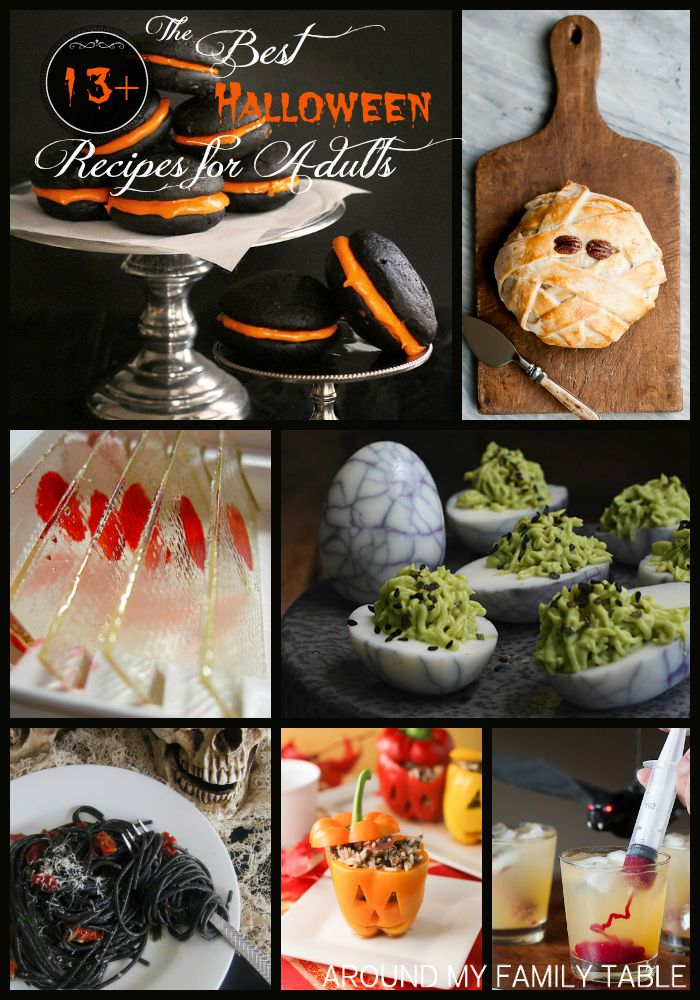the best halloween recipes for adults around my family table