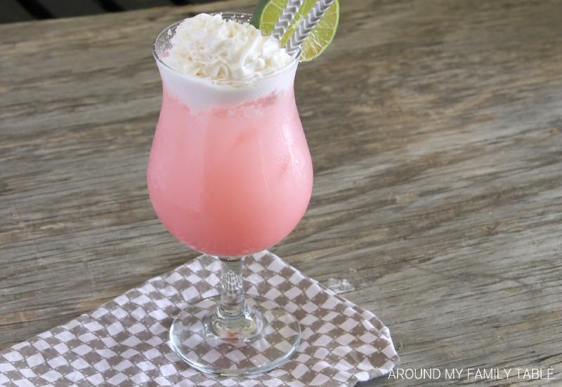 Coconut Cherry Lime Italian Cream Sodas