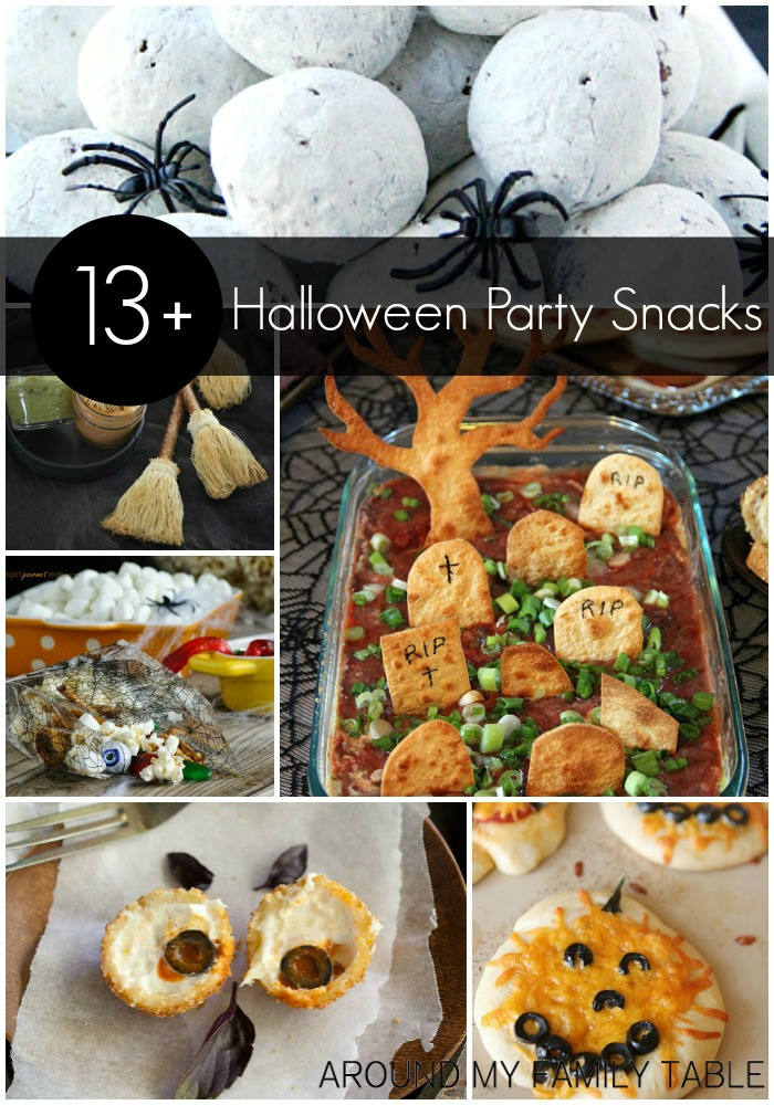 What a great excuse to get your inner foodie to create some cute and creepy Halloween party snacks.