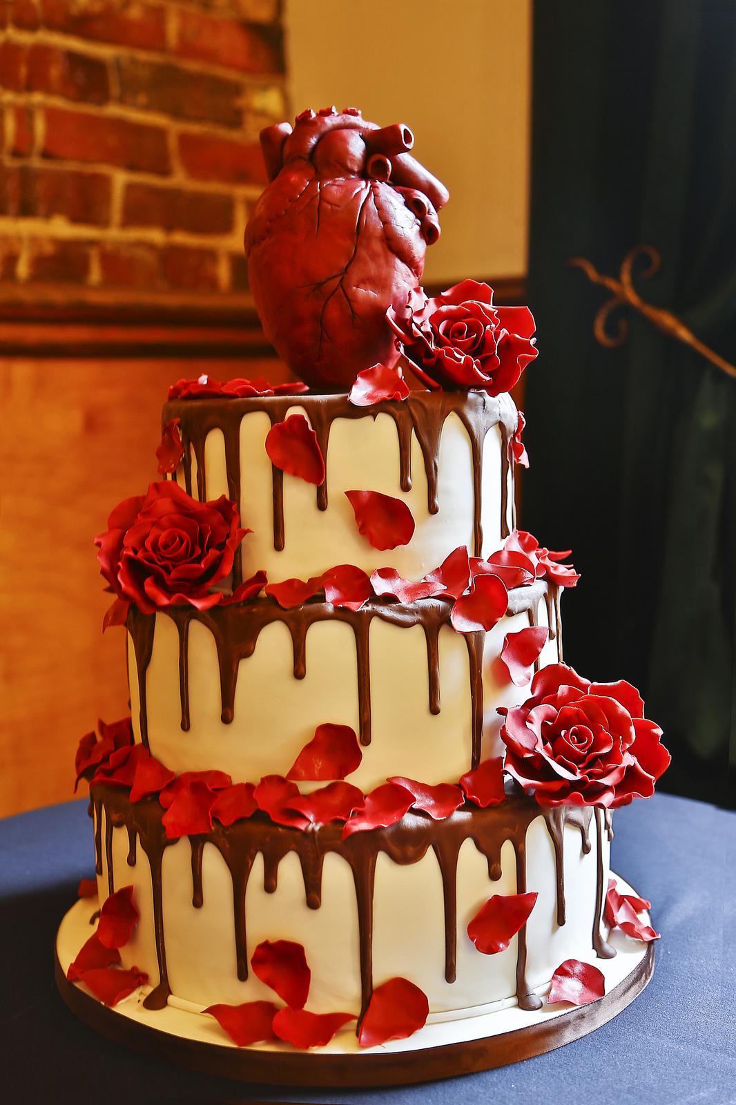 Beautiful Halloween Wedding Cakes - Around My Family Table