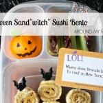 "Halloween ""Sand-witch"" Sushi Bento Box"