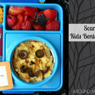 Scary Face Kid's Bento Box
