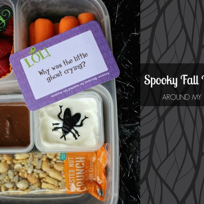 Spooky Fall Bento Box