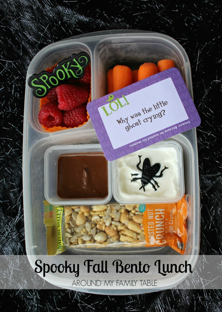 Spooky Fall Bento Lunch