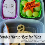 Zombie Bento Box for Kids