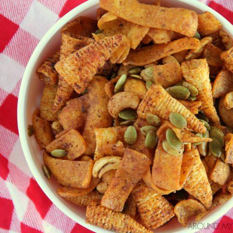 bowl of crunchy taco mix