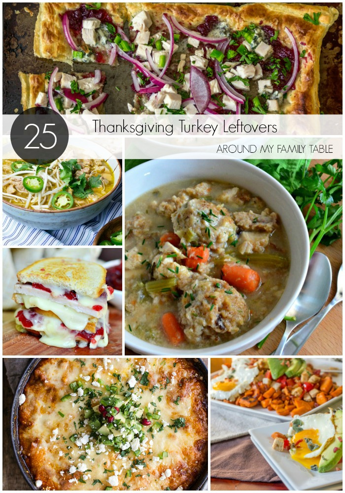Over 25 of the best recipes for your Thanksgiving turkey leftovers.