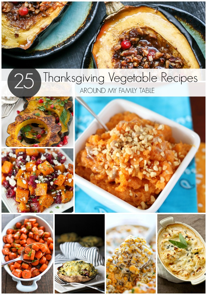 Set the perfect Thanksgiving table and be inspired with these delicious and beautiful Thanksgiving Vegetable Recipes and side dishes.