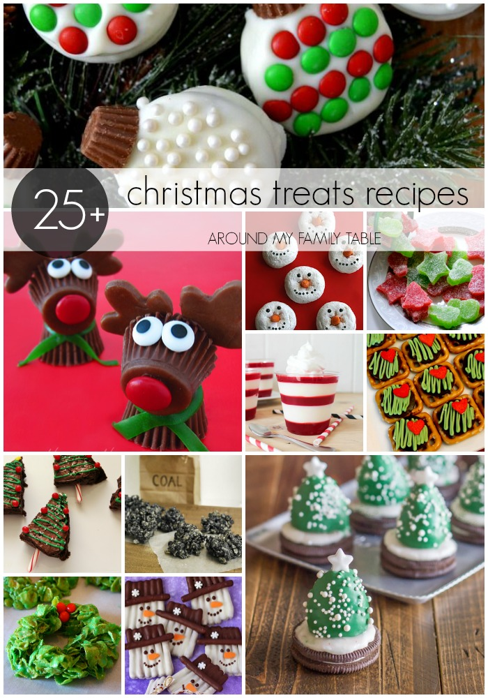The best Christmas Treat Recipes for you and your kids to make this season.