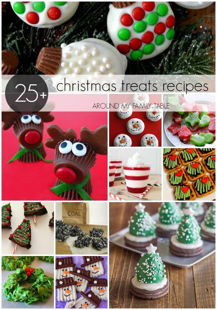 Christmas Treats Recipes - Around My Family Table