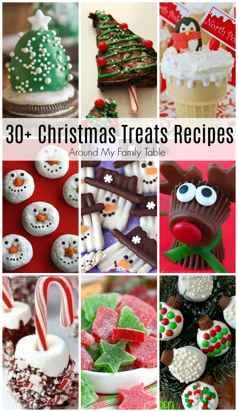 These are the best Christmas Treats Recipes for you and your kids to make this season.