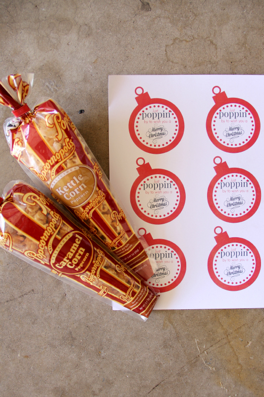 Make these Popcorn Christmas Gifts in bulk this year for all those last minute gifts.
