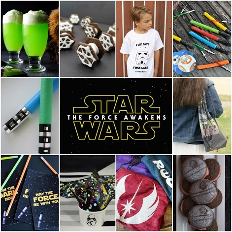 Star Wars party ideas from crafts to recipes to printables