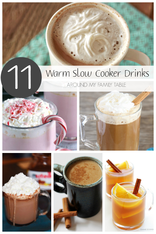 Plug in your slow cooker and let the aroma of one of these Warm Slow Cooker Drinks fill your house and delight your guests this winter.