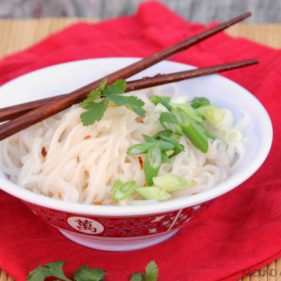Asian Sweet & Spicy Noodle Bowl