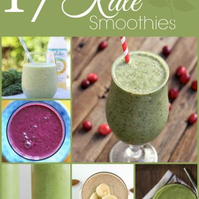 17 Delicious Kale Smoothies