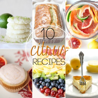 10 Beautiful Citrus Recipes