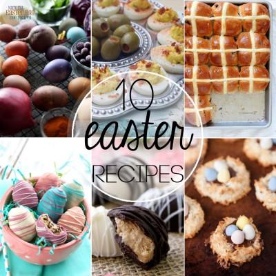10 Beautiful Easter Recipes