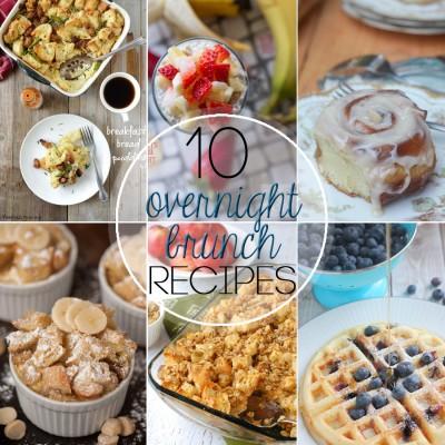10 Overnight Brunch Recipes