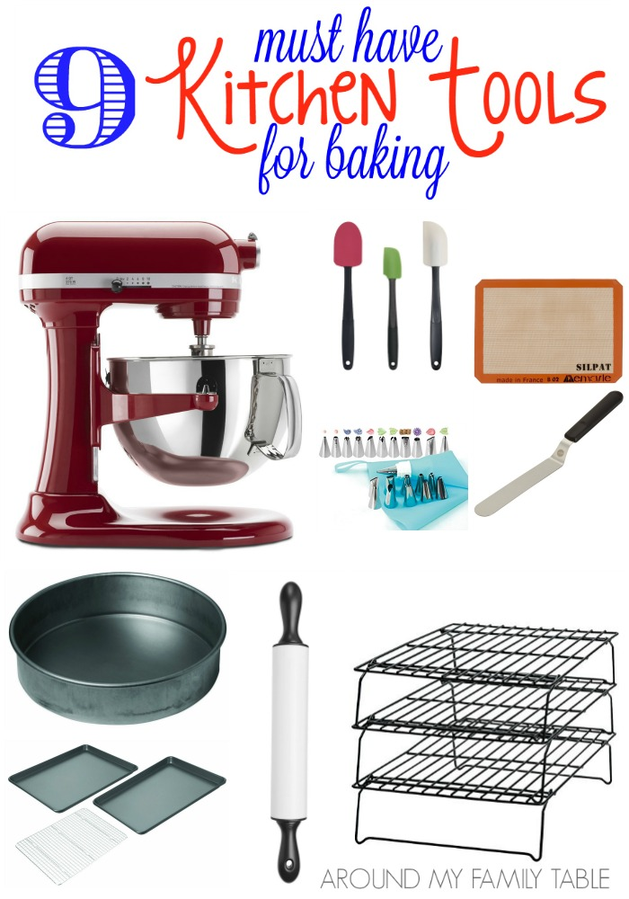 If you love to bake or know someone who does, then you should check out this list of the Best Kitchen Tools for Baking.  These are some of my favorite products that I just can't live without.
