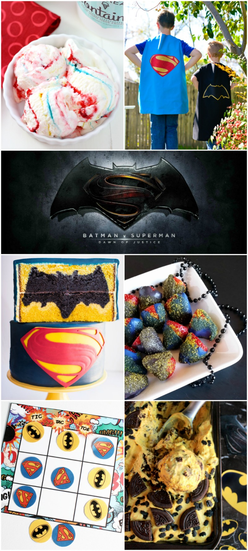 Plan a Batman vs Superman Party with these great ideas!