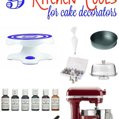 The Best Kitchen Tools for Cake Decorators