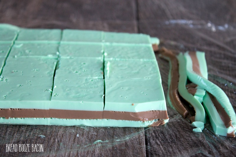 Grasshopper Jello Shots are a crazy delicious mixture of chocolate and mint no one can resist!